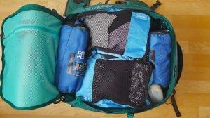 Erstklassige Packliste für BackpackerInnen