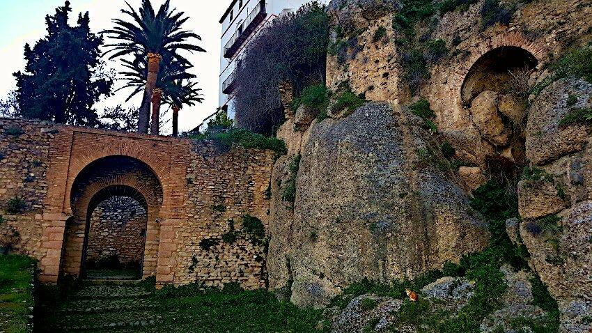 Stadtmauer Ronda Sighs
