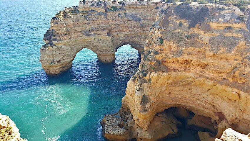 Klippen Portugal Wandern