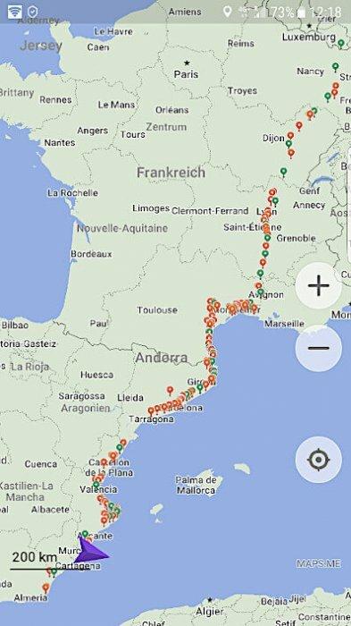 Vanlife Sommerverlängerung Spanien