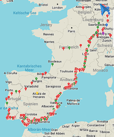 Reiseabbruch Corona-Krise Portugal